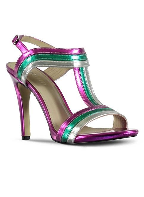 Marjin Topuklu Ayakkabı Fuşya